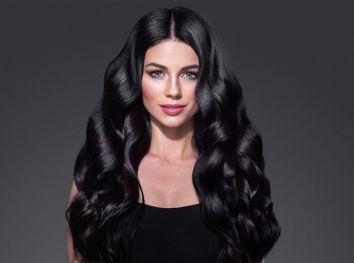 Extensiones Vanityhair cabello moreno