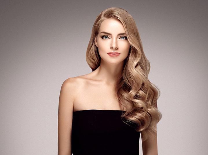 Extensiones Vanityhair cabello rubio